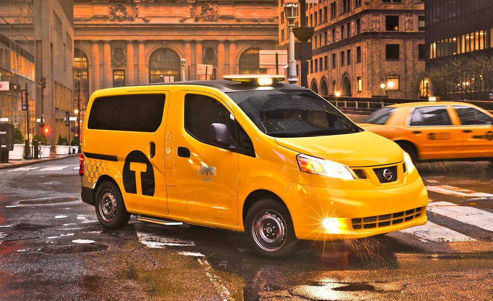Nissan NV200 Will Take The Role Of NYC Taxi Cabs 5