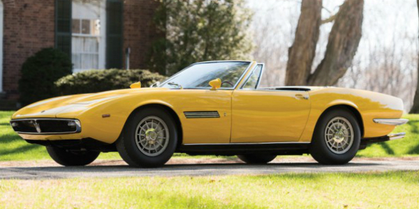 Original Maserati Ghibli Spyder Prototype Is Set To Be AUCTIONED 21