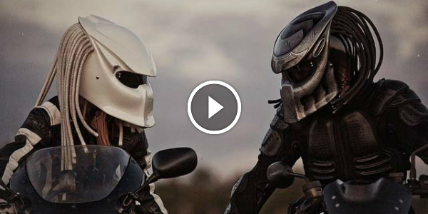 Be The Most Unique Biker With This Predator Helmet Make Everybody