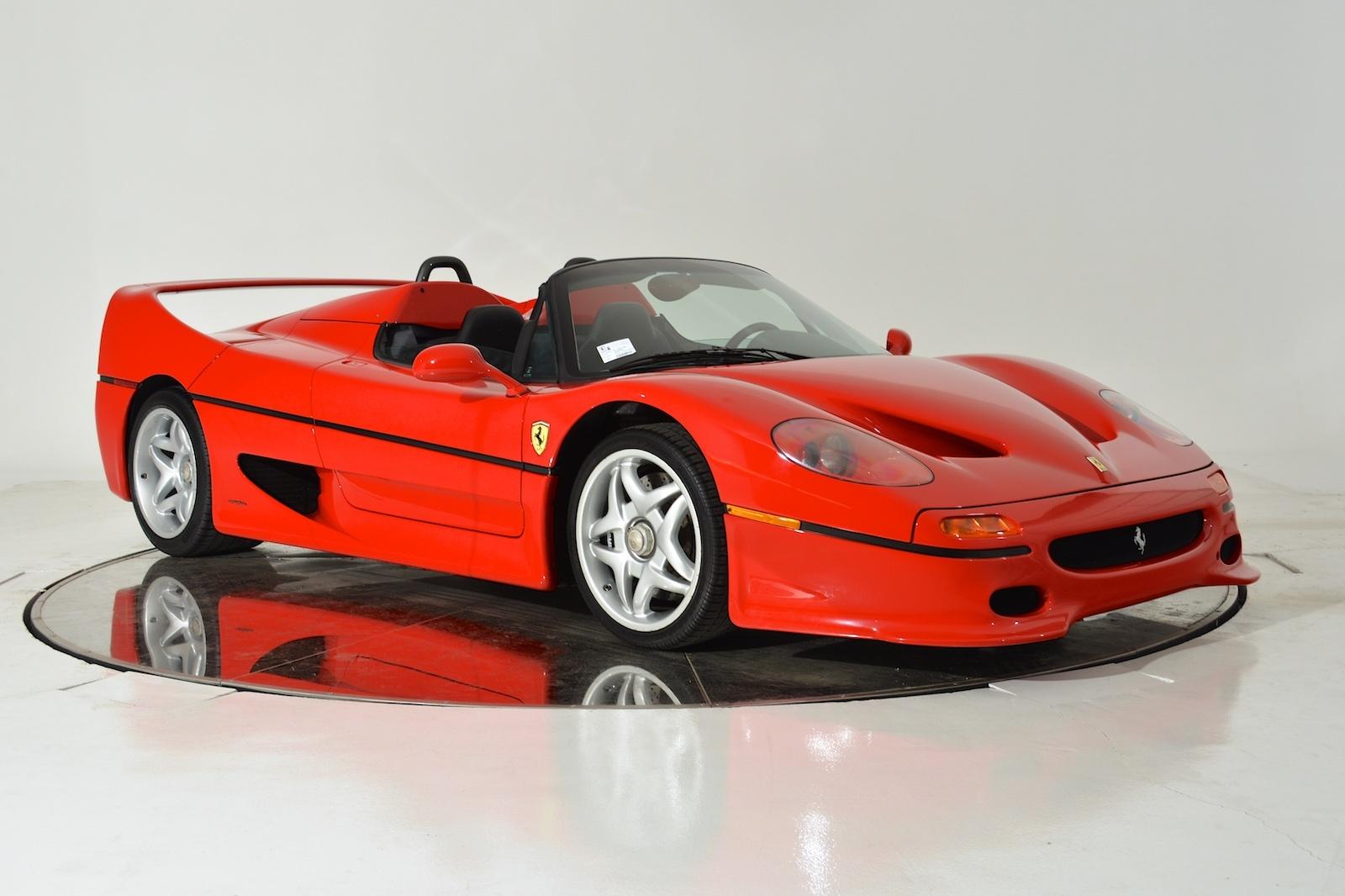 Ferrari fans dig in the rare ferrari f50 is up for sale for 26 the rare ferrari f50 is up for sale for 26 million vanachro Choice Image