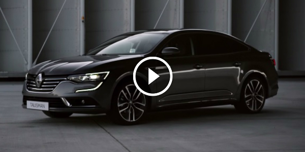 RENAULT Will REPLACE The LAGUNA! Welcome The New Talisman SEDAN 165