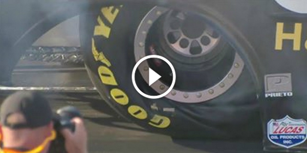 SLOW MOTION Display Of A TIRE WRINKLE 11