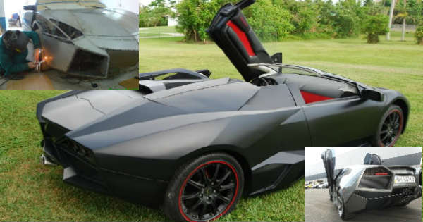 Index of wp contentuploads201507 teenager build lamborghini reventon replica by hand in his garage 1g publicscrutiny Gallery