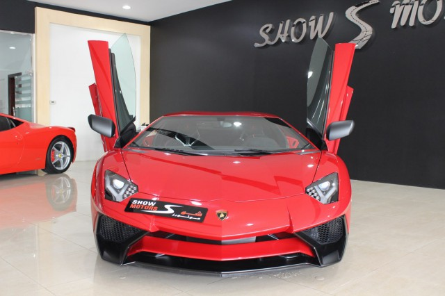 The First Lamborghini Aventador SV Is Up For SALE in Dubai 1