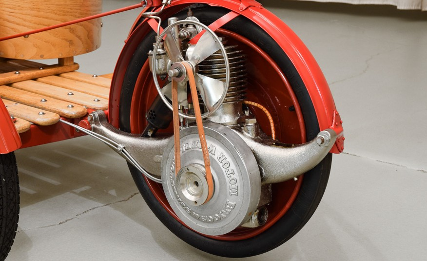 The OWNER Of This PRISTINE 100 Year Old GO-KART Have A LOOK At The MAGNIFICENT 1915 SMITH FLYER 7