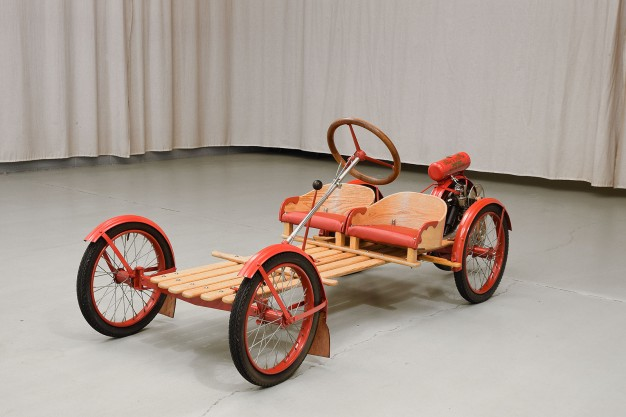 The OWNER Of This PRISTINE 100 Year Old GO-KART Have A LOOK At The MAGNIFICENT 1915 SMITH FLYER