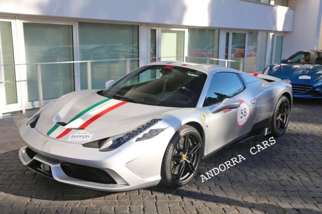Unique Ferrari 458 Speciale A SPOTTED In Andorra 1