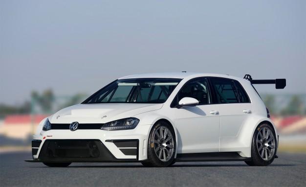 VW Introduced The 330HP Golf RACE CAR CONCEPT 3