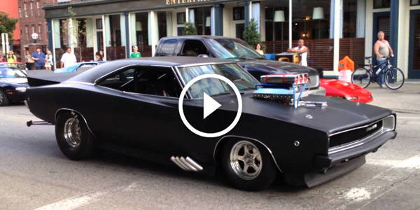 The City Is On Fire! A 1968 DODGE CHARGER PRO STREET ROARING On The  Streets! What A Rush! Gallery