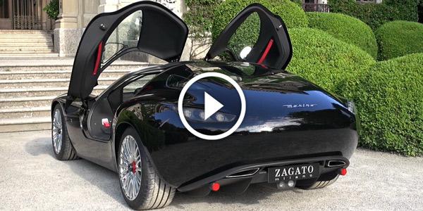 2015 Zagato Maserati Mostro LOUD V8 Sound
