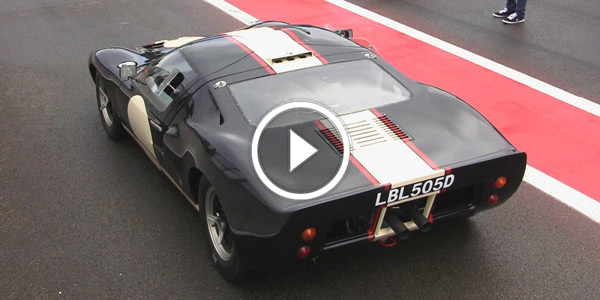 Ford GT40 PURE V8 Engine Sound