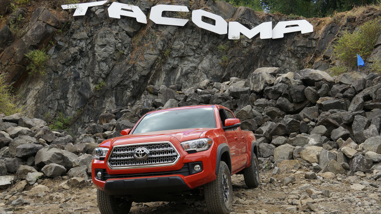 2016 TOYOTA TACOMA Is Just PERFECT For OFF-ROADERS First Drive 7
