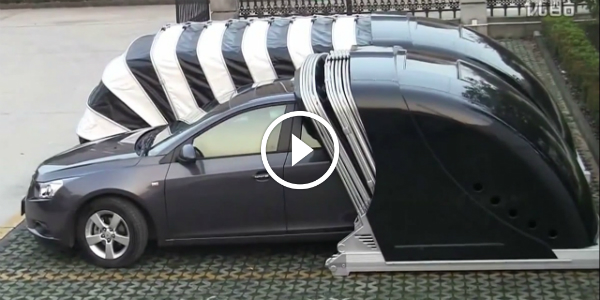 Pop Up Tent Garage : Protect your car with the chinese portable pop up garage