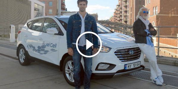 HYUNDAI Hydrogen Car Hydrogen Fueled HYUNDAI iX35 Sets A World Record First Of Its Kind The Viking & The Scientist 2412