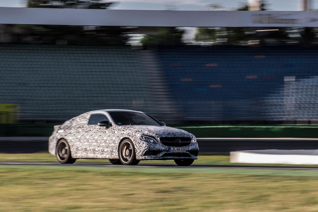 New MERCEDES-AMG C63 Coupe The OFFICIAL Photos & Teaser VIDEO 5