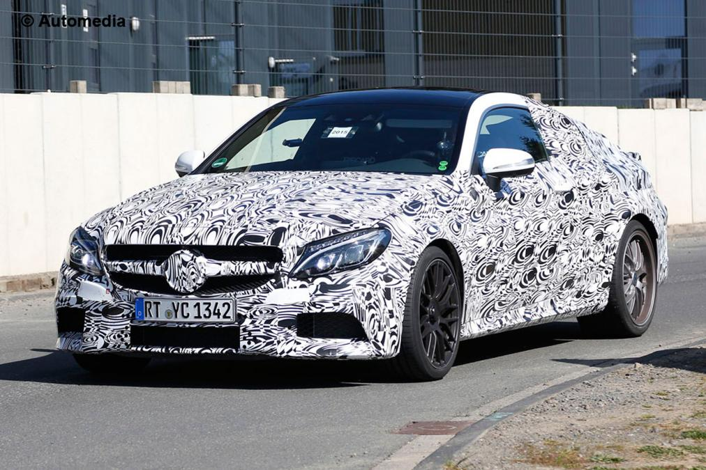 New MERCEDES-AMG C63 Coupe The OFFICIAL Photos & Teaser VIDEO 6