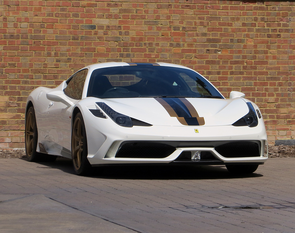 new ferrari 2016 white. one of a kind ferrari 458 speciale is up for sale! do you fancy combination of black, white \u0026 gold?! new ferrari 2016