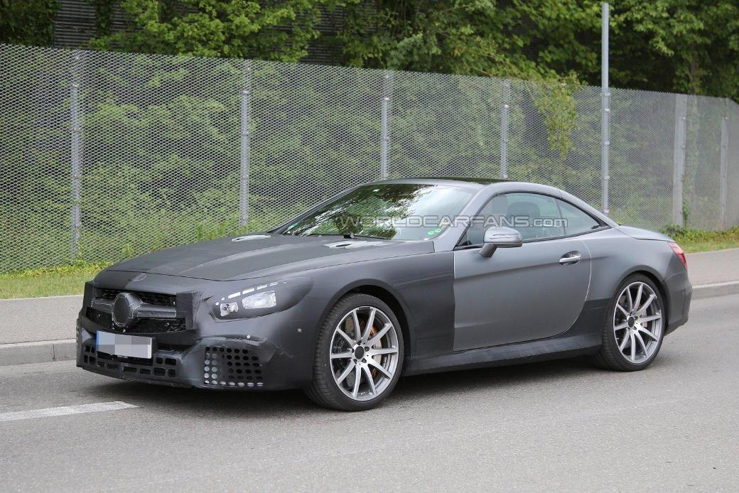SPY SHOTS! See The 2017 Face-lifted Mercedes-Benz SL63 AMG 1 ...