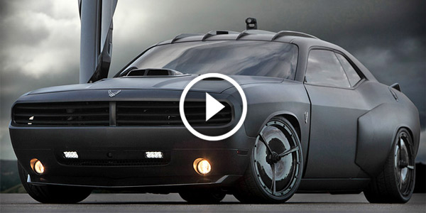 Air Force Vapor Stealth Muscle Car