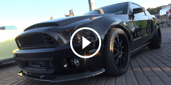 ALL BLACK 850 hp Shelby GT500 Super Snake