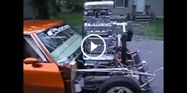 Supercharged Pontiac GTO 1970 Pontiac GTO With A Supercharger On Top Of A Supercharger 45