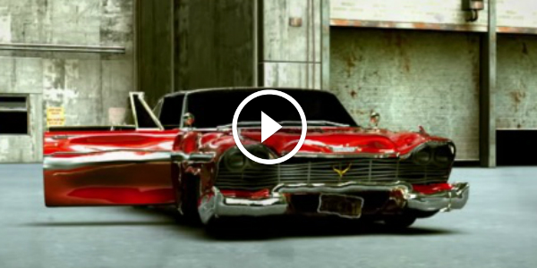 3D Animation Tribute To John Carpenter Christine 1958 PLYMOUTH FURY 12