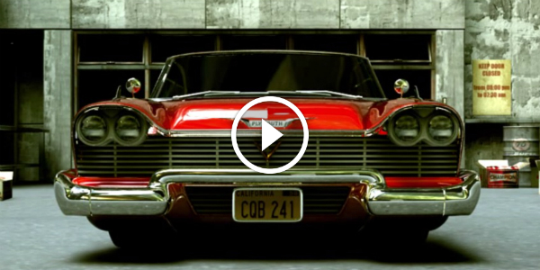 3D Animation Tribute To John Carpenter Christine 1958 PLYMOUTH FURY 33