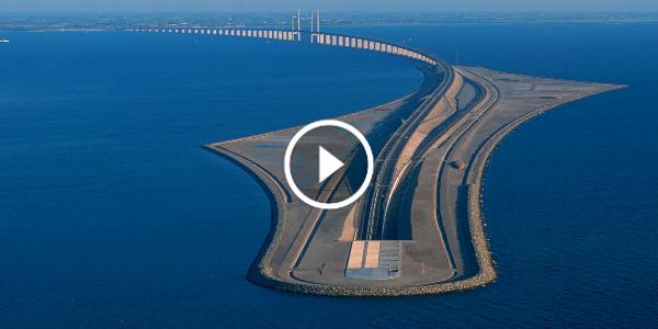 Cars For Under 3000 >> Oresund Bridge! The Bridge Connecting Malmo And Copenhagen ...