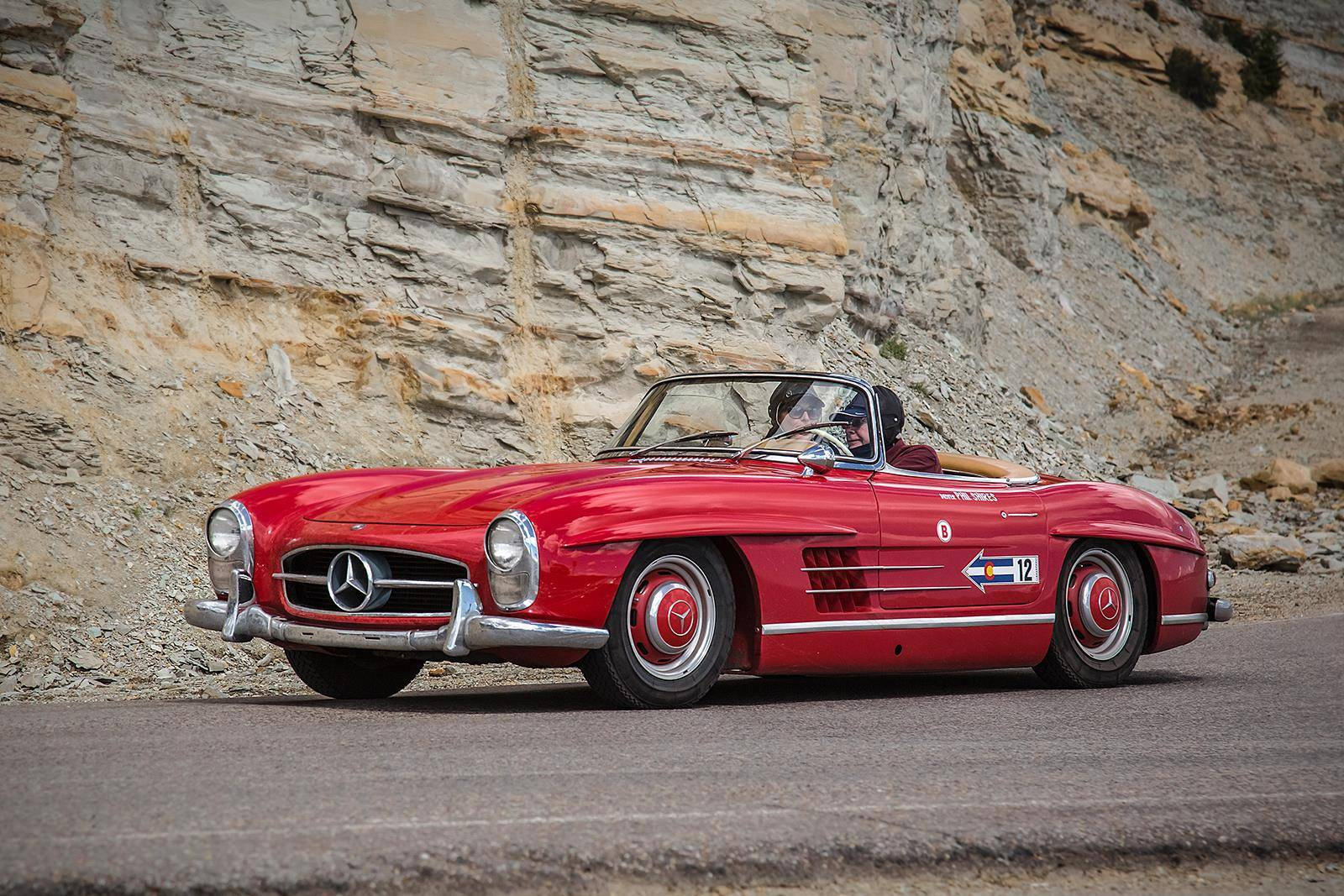 Mercedes Benz Classic Automobiles Displayed At Colorado Grand