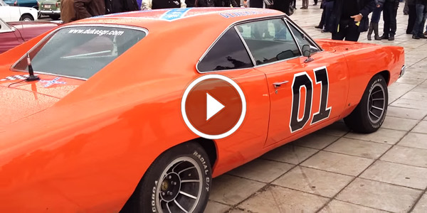 Dodge Charger Rt General Lee Revving At Athens
