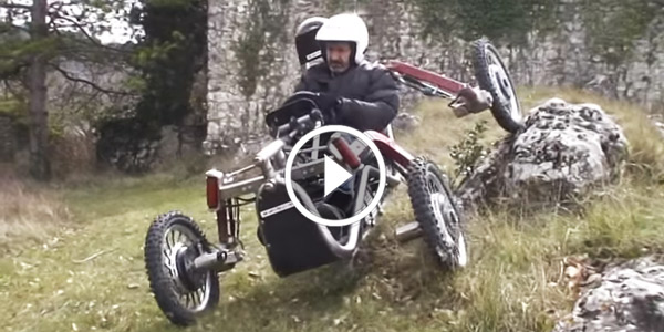 How About This Crazy French Off Road Vehicle With Unbelievable