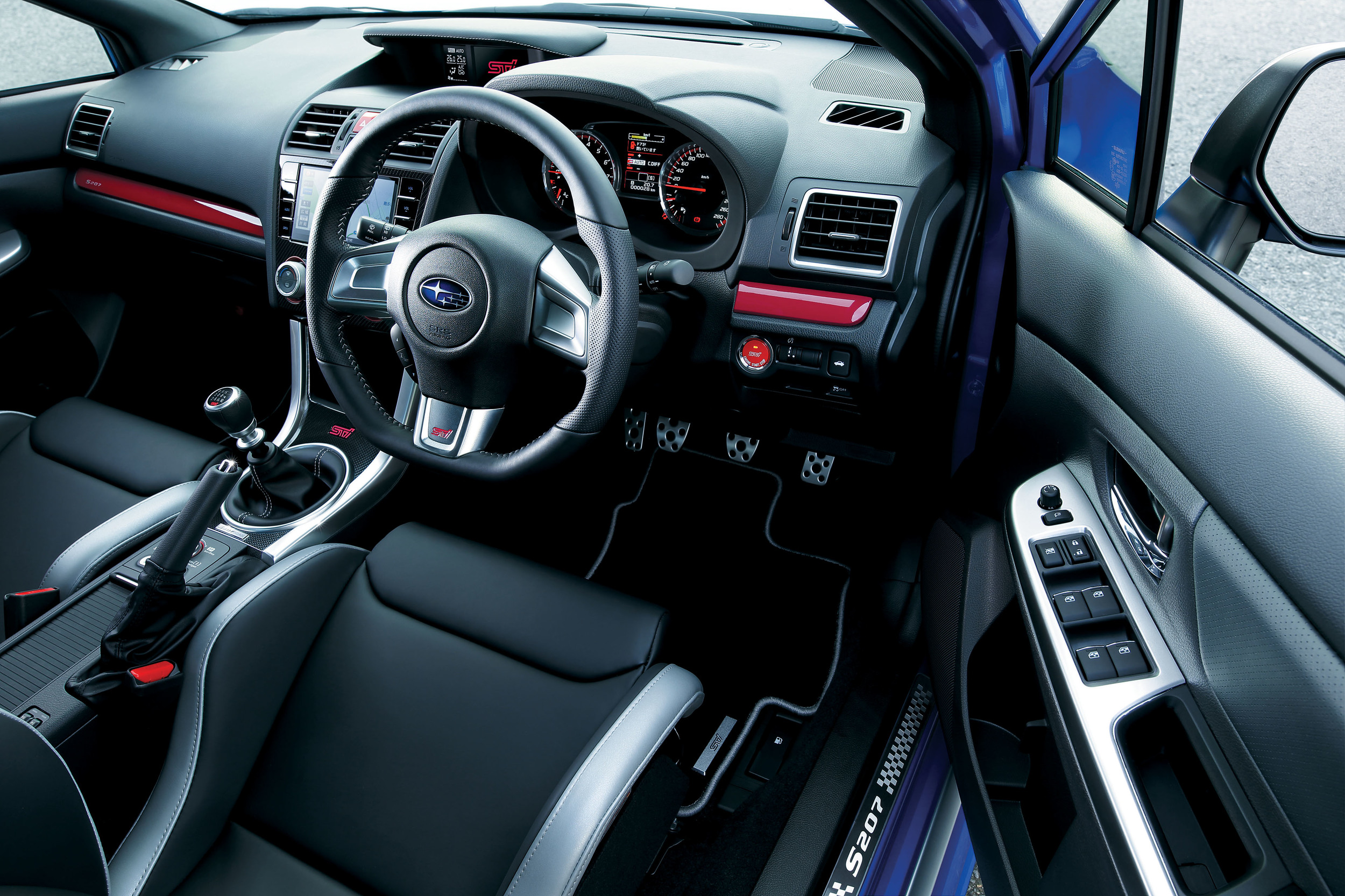 400 Subaru WRX STI S207 Vehicles Included In The Japanese Limited Edition 10