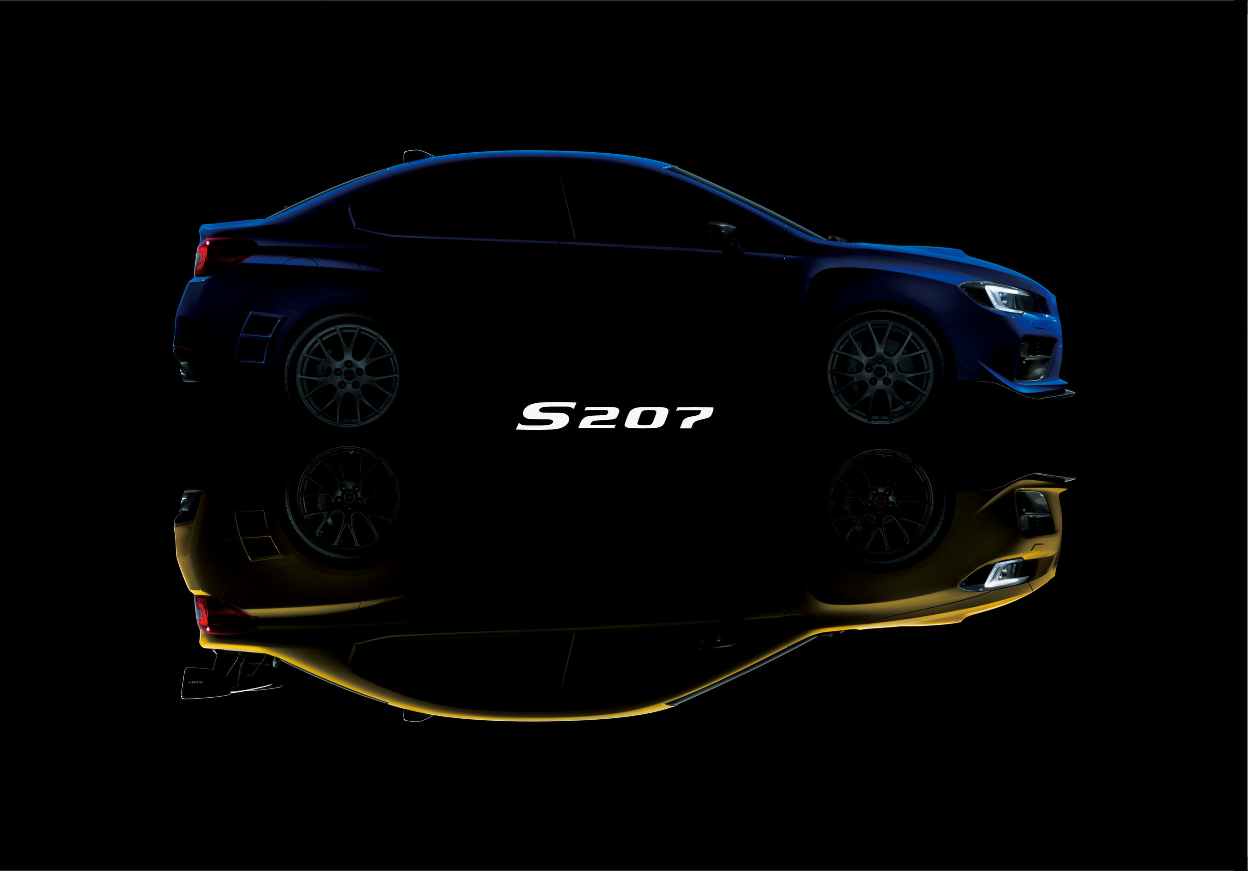 400 Subaru WRX STI S207 Vehicles Included In The Japanese Limited Edition 5
