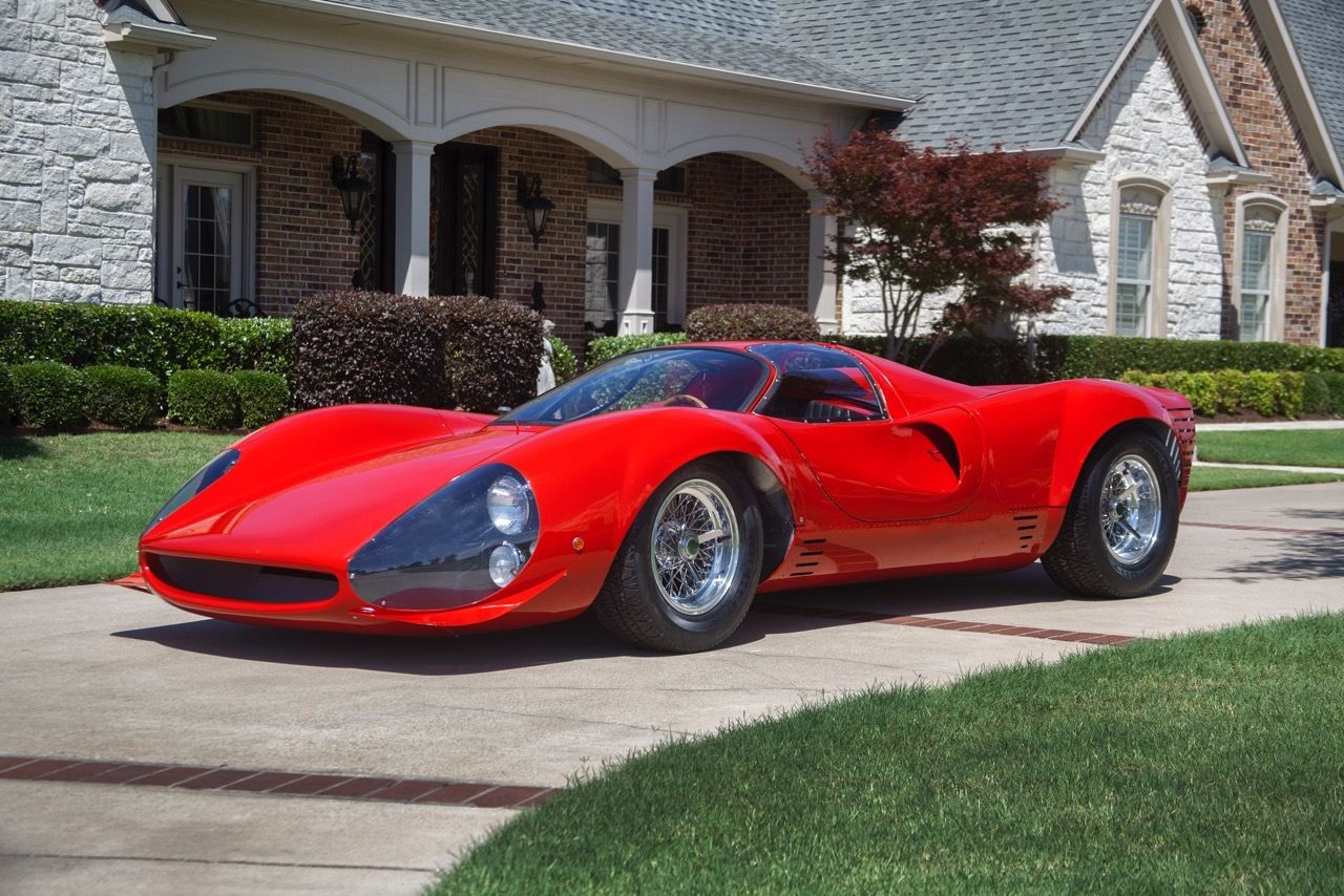 Extremely Rare 1967 Ferrari Thomassima Is For Sale!
