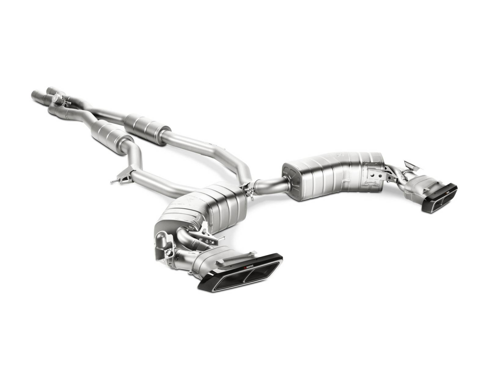 akrapovic launches brand new ultra light exhaust system