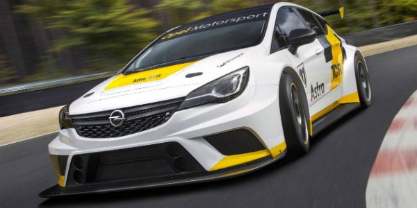 Aerodynamic Racer 2016 Opel Astra TCR cover