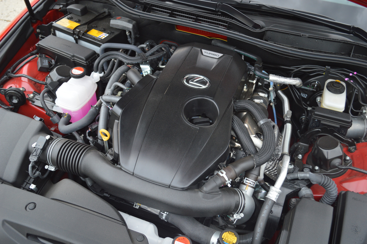 Brand New Turbocharged Engine In The 2016 Lexus IS 200t F-Sport 10