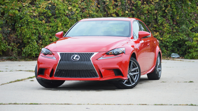 Brand New Turbocharged Engine In The 2016 Lexus IS 200t F-Sport 2