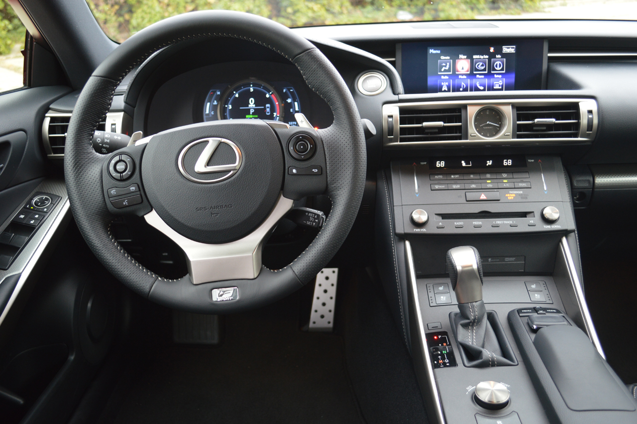 Brand New Turbocharged Engine In The 2016 Lexus IS 200t F-Sport 7