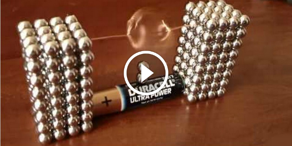 how to make a magnet with a battery copper wire