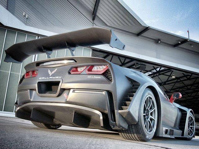 Corvette C7 GT3-R By Callaway Is Almost 100 Carbon Fiber 3
