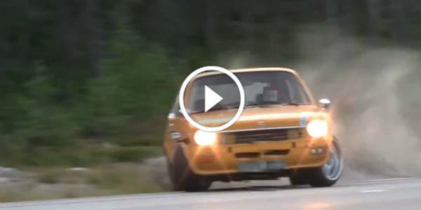 DRIFTING An OPEL KADETT Sleeper Powered By A BMW M60 Motor 23