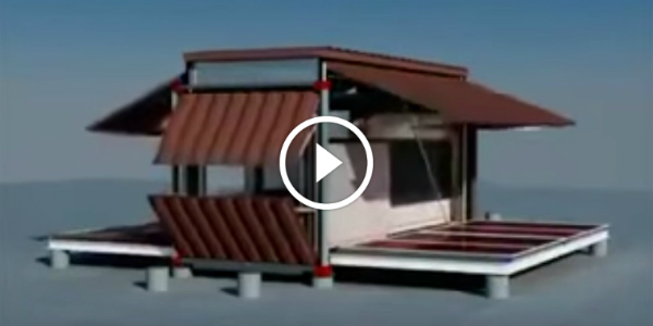 Engineering Self-Deploying CONTAINER HOUSE FUTURE HOMES 15