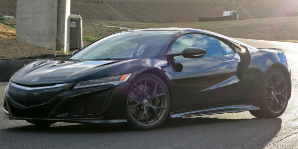 Extremely Complexed 2017 Acura NSX cover