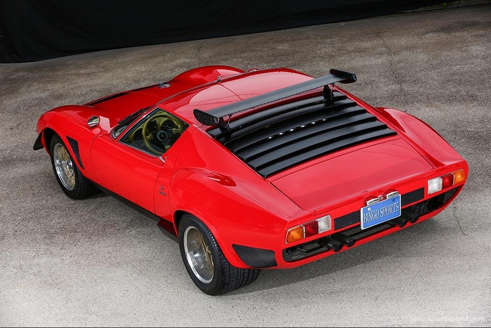 Lambo Miura Jota SVR For Sale By Bingo Sports 9 - Muscle Cars Zone!