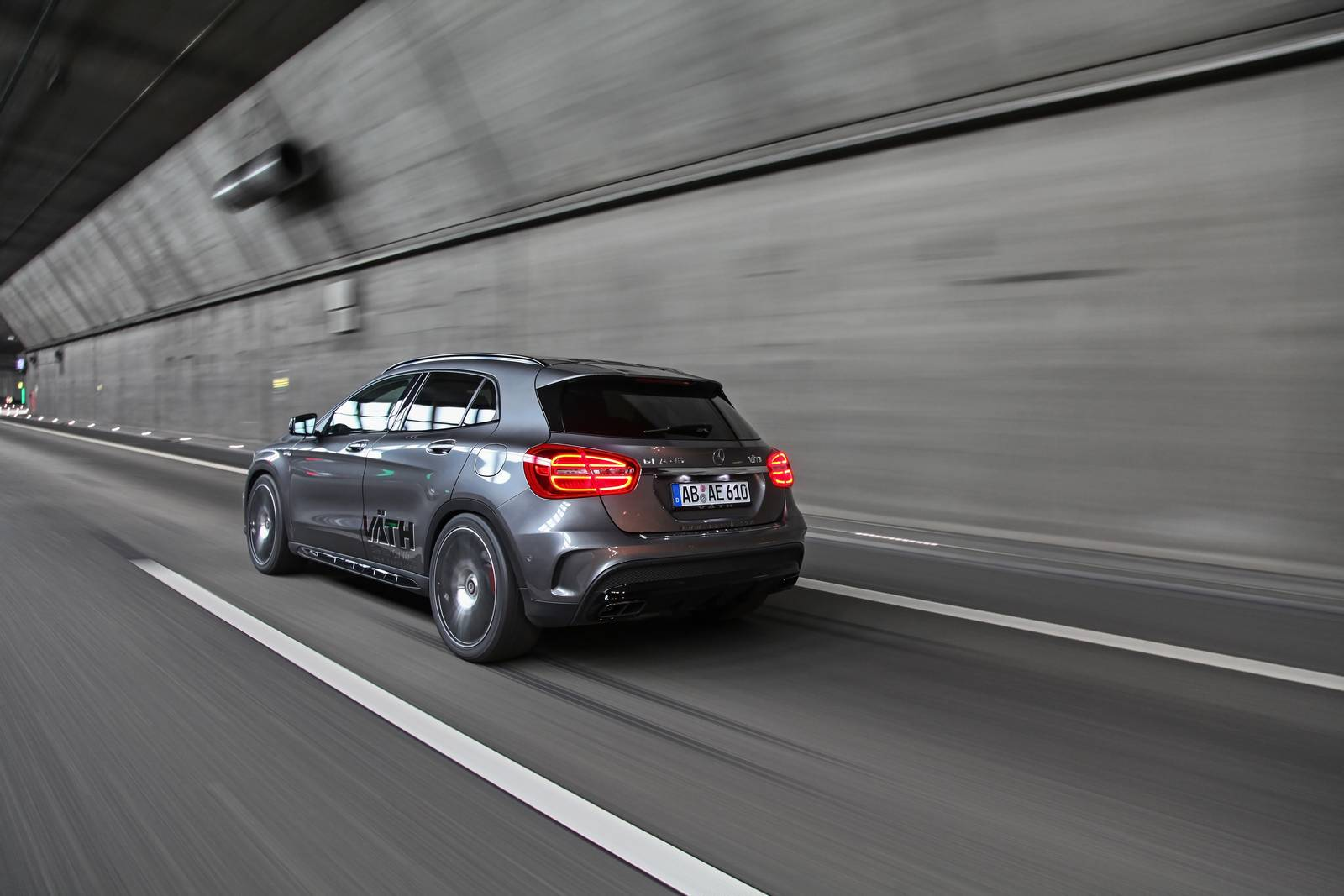 Mercedes-Benz GLA45 AMG Crossover Tuned By Vath 5