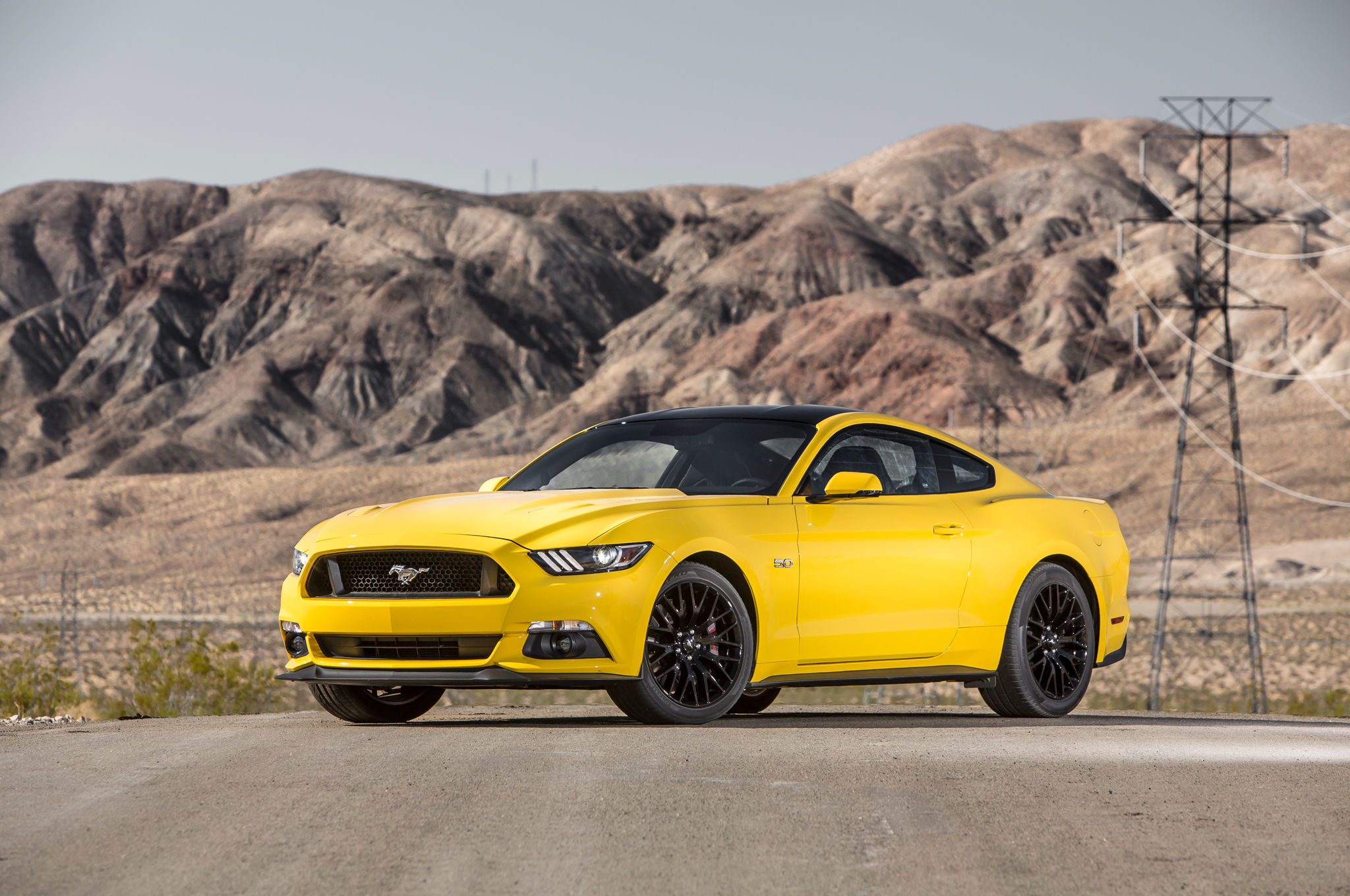Stunning Yellow 2016 Ford Mustang GT 1