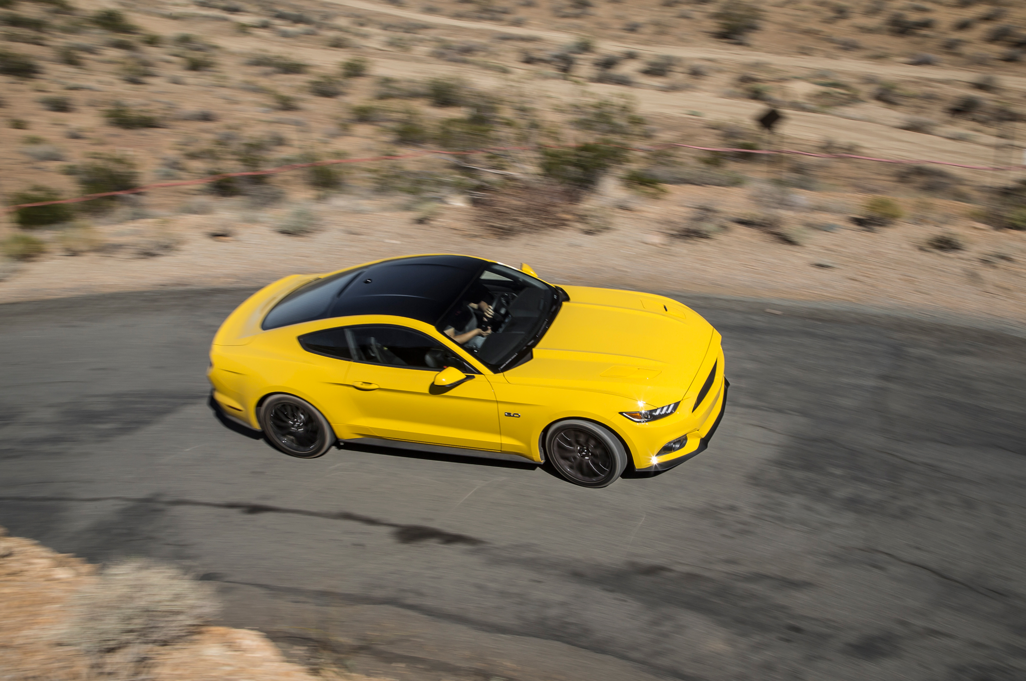 Stunning Yellow 2016 Ford Mustang GT 6