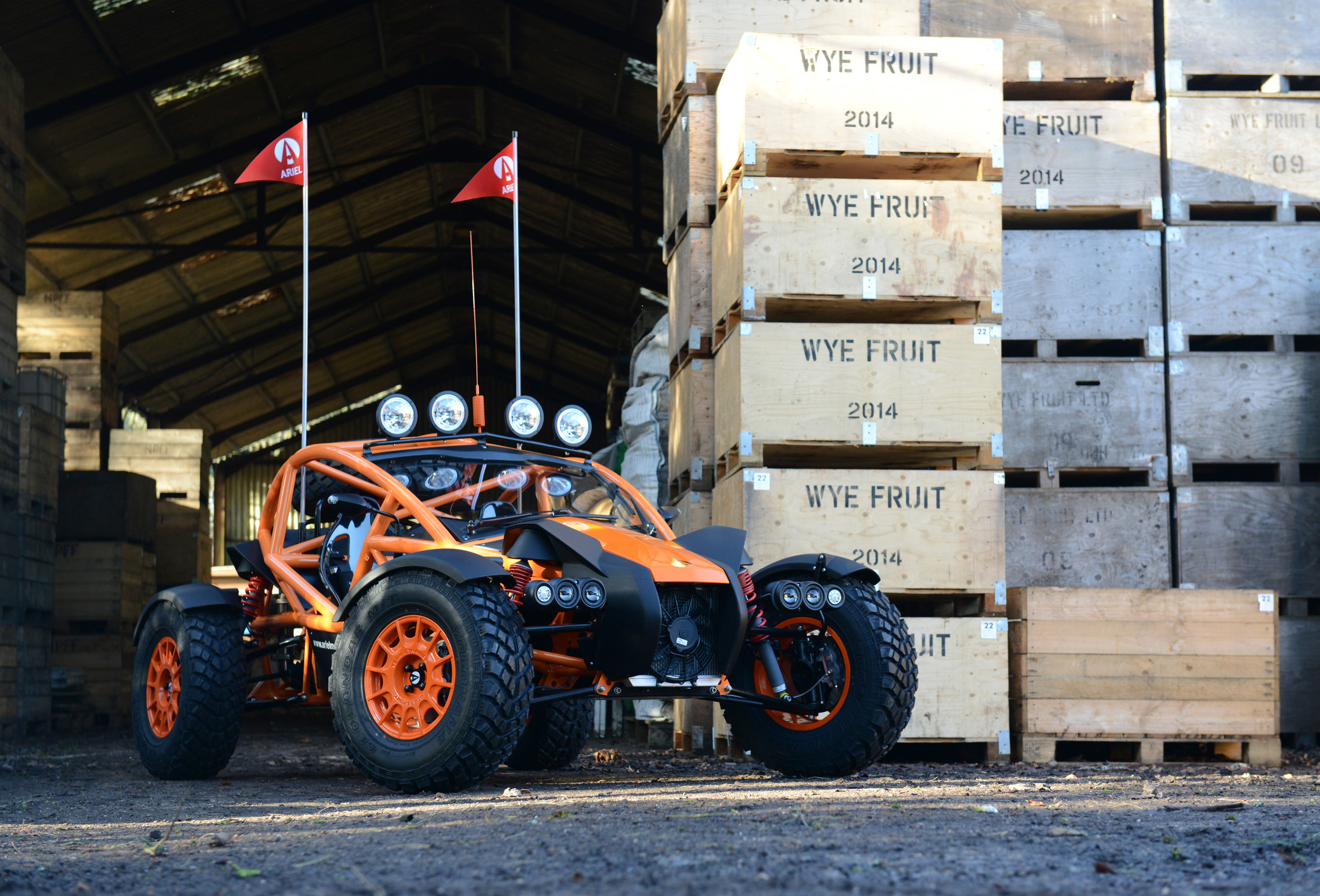 Supercharged Ariel Nomad 9