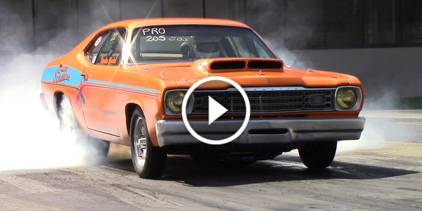 9 Second fast Plymouth Duster Drag Racing